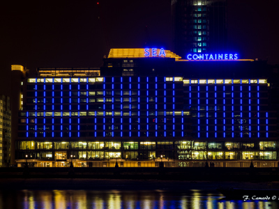 Sea Containers Building, London.