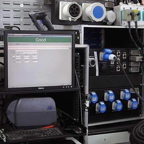 Tourflex Cabling testing facility